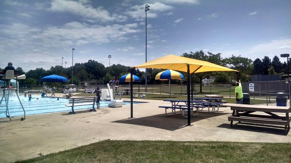 Bexley Pool in South Euclid