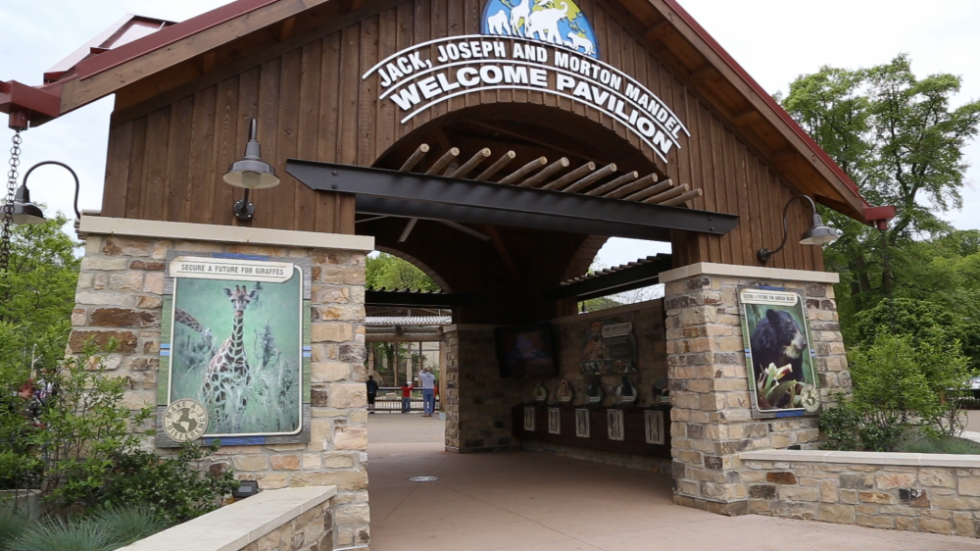 The Jack, Joseph and Morton Mandel Welcome Pavilion at the Cleveland Metroparks Zoo.