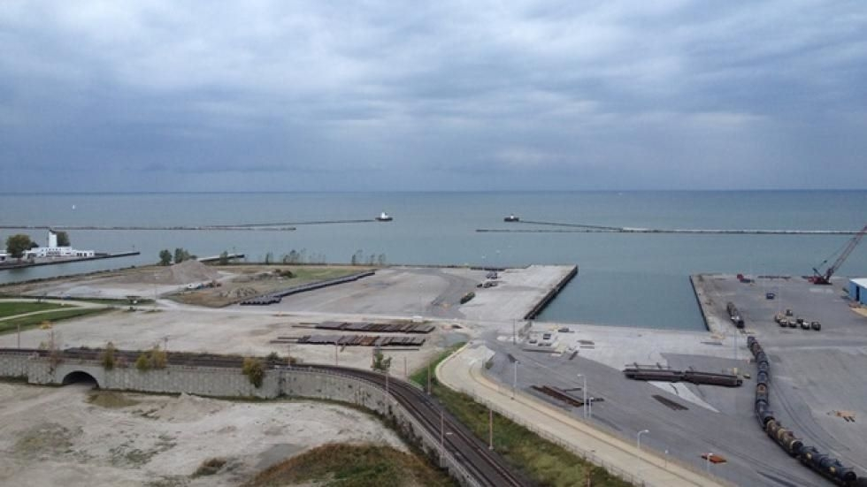 The Port of Cleveland in 2014