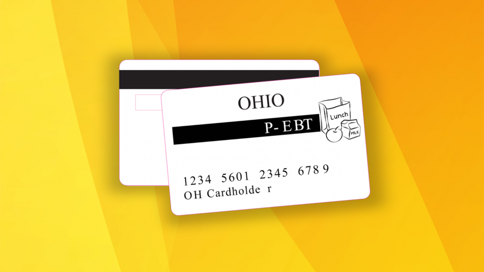 Families who receive this card have 12 months to spend it. [Ohio Department of Jobs and Family Services]