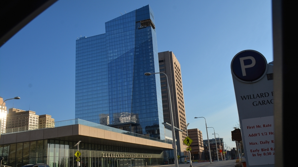 Cuyahoga County finished construction on the hotel just ahead of the 2016 Republican National Convention.
