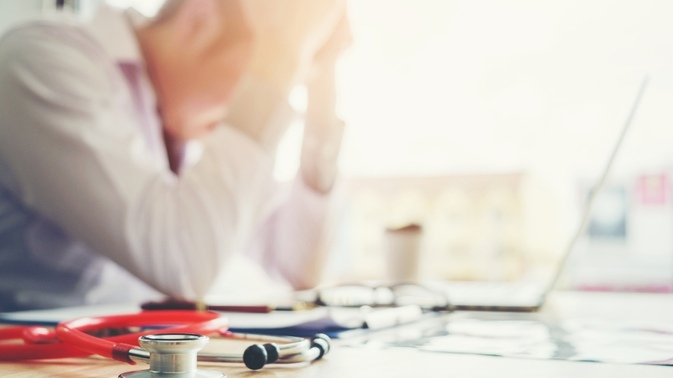 Burnout among medical providers was attributed to fears of becoming infected with COVID-19 or exposing family members.  [Joyseulay / Shutterstock]