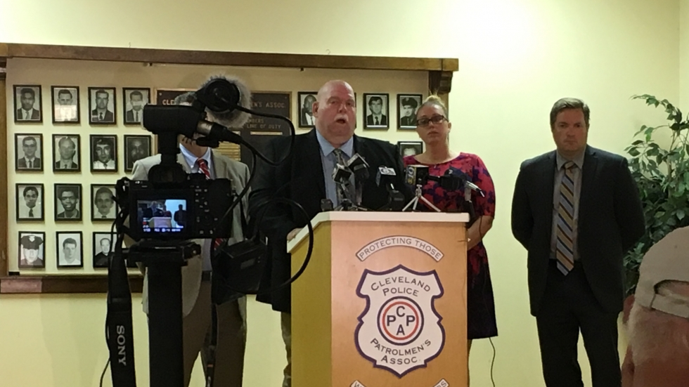 Cleveland Police Patrolmen's Association' leader Steve Loomis