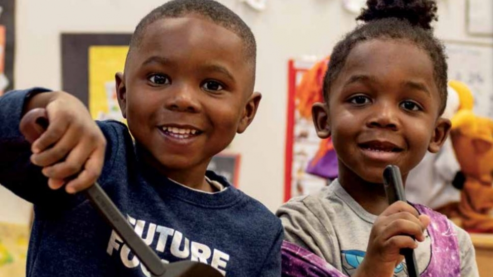 Kids in the Pre4Cle 2019 annual report