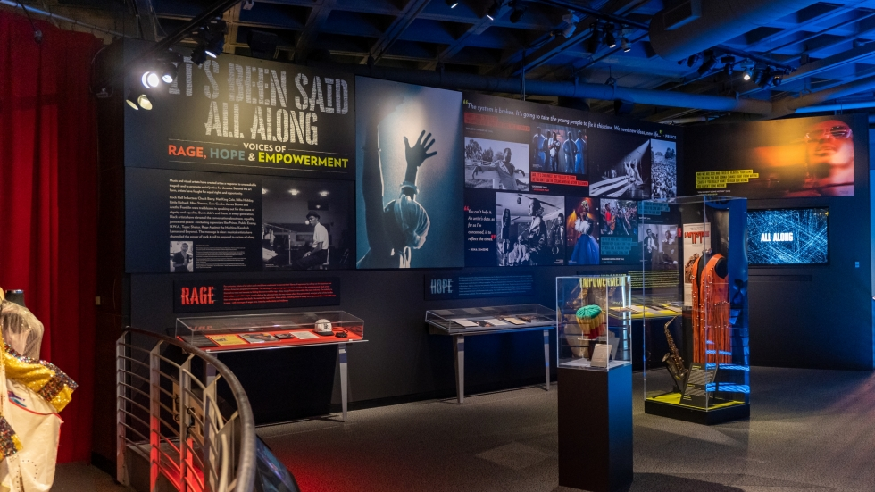 "Photo of Rock Hall Exhibit ""It's Been Said All Along"" [Rock&Roll Hall of Fame]"