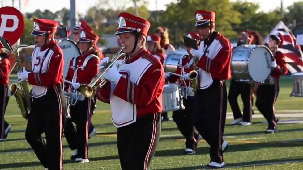 Parma City Schools marching band