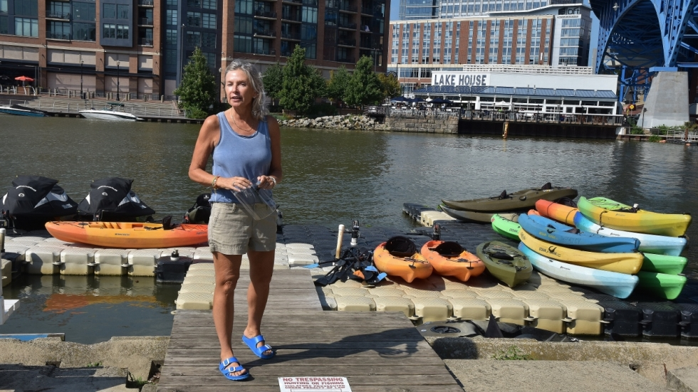 Laurie Dittoe, owner of Great Lakes Water Sports