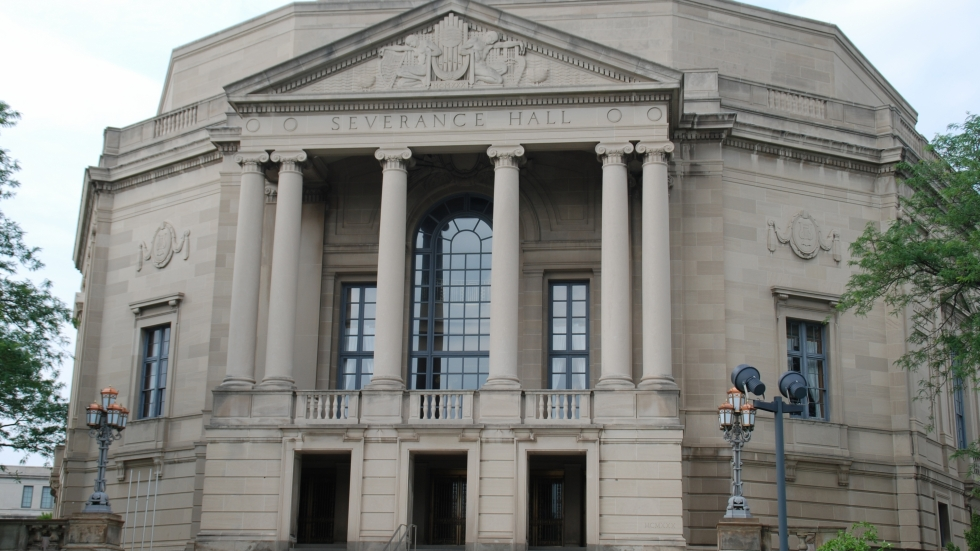 The Euclid Avenue facade of Severance Hall looks the same, but a number of changes are brewing inside, due to pandemic safety precautions.