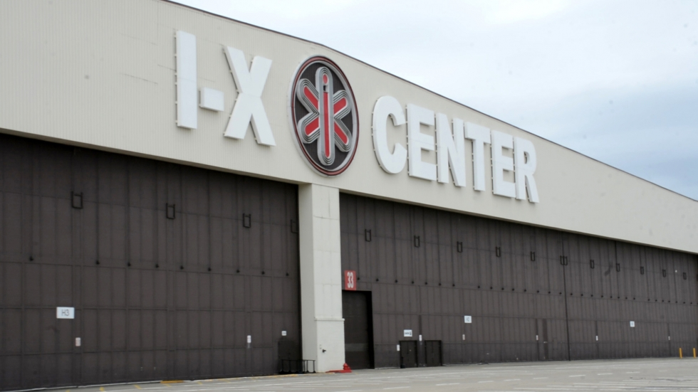 Built during World War II for U.S. wartime manufacturing, the giant warehouse near Cleveland-Hopkins International Airport took on a new life as the I-X Center in 1985.