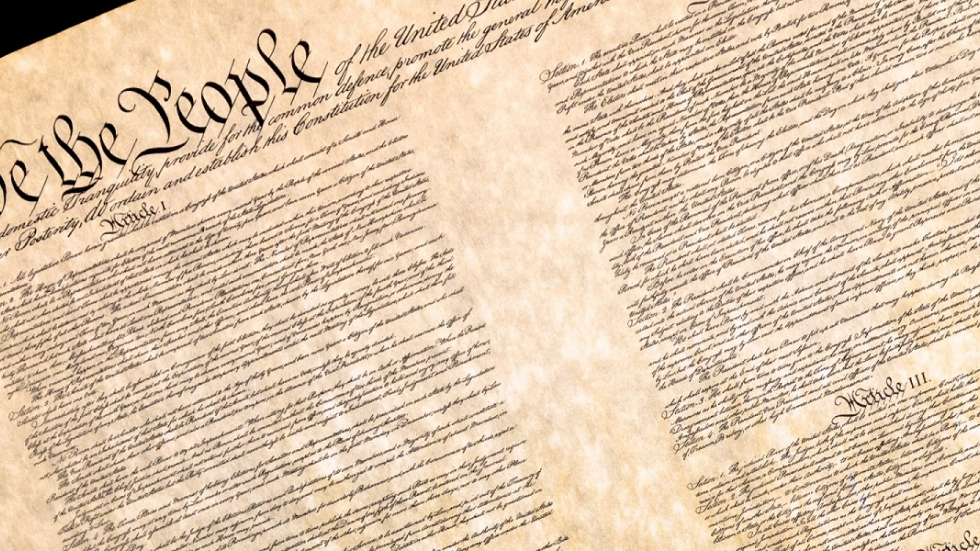 Preamble of the Constitution of the United States [Jack R Perry Photography / Shutterstock]