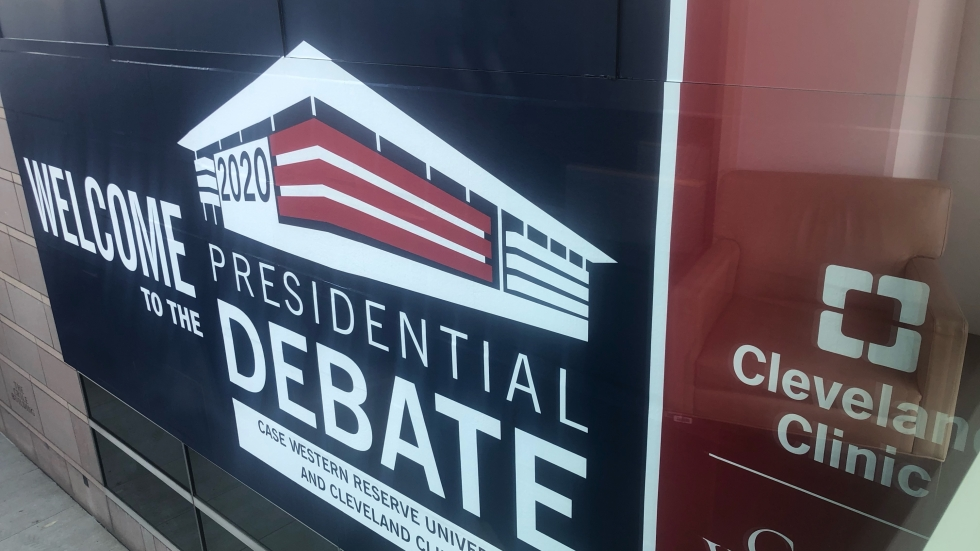 The debate will be held near Cleveland Clinic's main campus on Euclid Ave, in the Sheila and Eric Samson Pavilion. [Kelci Baker]