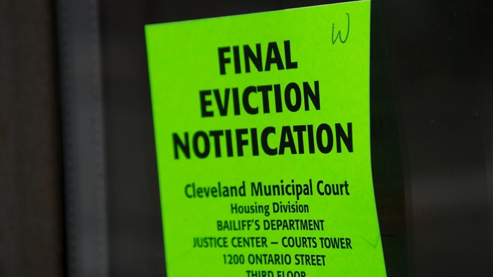 The Legal Aid Society of Cleveland this week started appearing at every virtual eviction docket to screen tenants for eligibility for free legal aid and rental assistance.[Nick Castele / ideastream]