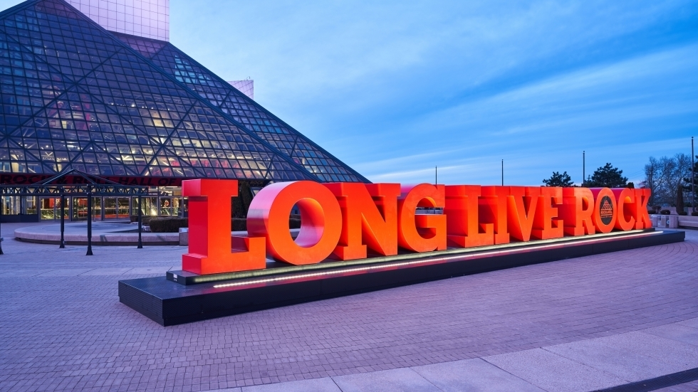 The familiar red 'Long Live Rock' logo will greet visitors once again.