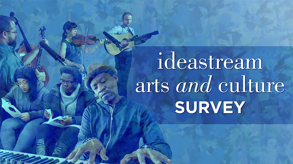 ideastream arts and culture survey graphic