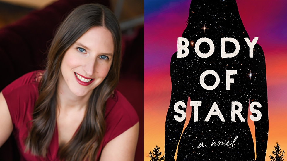 "Laura Maylene Walter and ""Body of Stars"" cover"