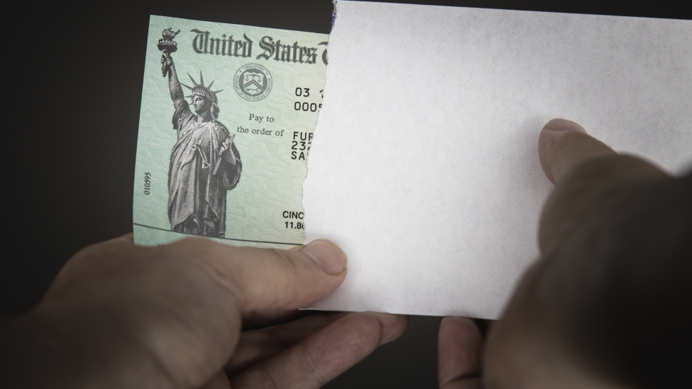 On The Sound of Ideas, we discuss the $1.9T stimulus package. [Jason Raff/shutterstock]