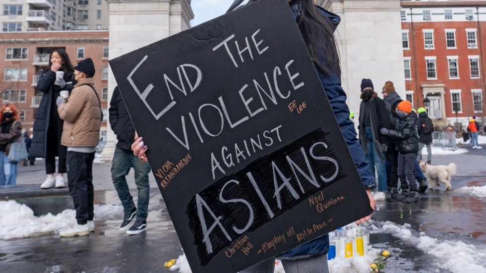 End the Violence Against Asians picture