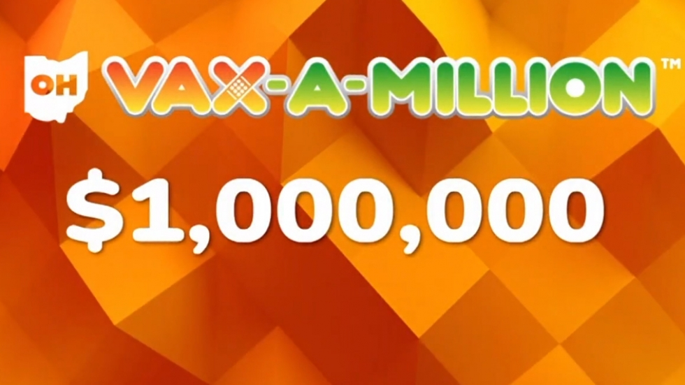The first two winners of Ohio's Vax-a-Million lottery incentive were revealed Wednesday evening. [Ohio Lottery]