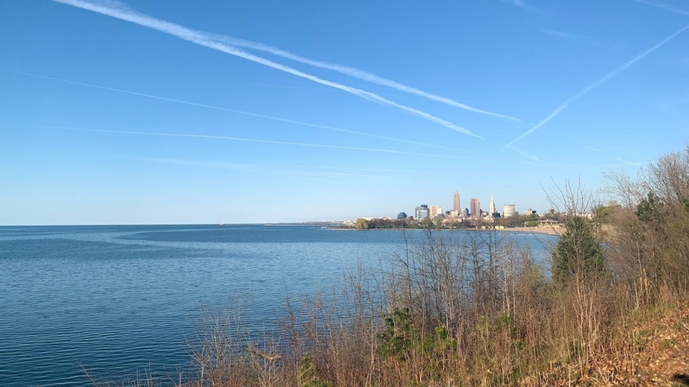 New research shows chemicals called PFAS (often called forever chemicals) are raining down in Northeast Ohio and into Lake Erie [Lisa Ryan / ideastream]