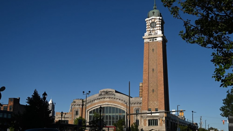 Cleveland's West Side Market building in the Ohio City neighborhood