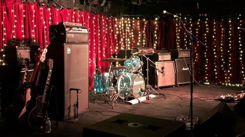 Grog Shop stage in Cleveland Heights