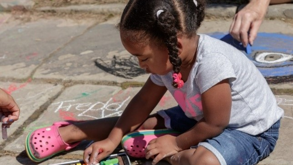 The Cleveland Museum of Art hosts the 32nd Annual Chalk Festival Saturday, September 11.