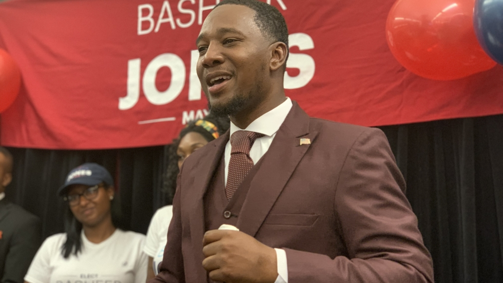 Basheer Jones conceded Tuesday night after results came in.