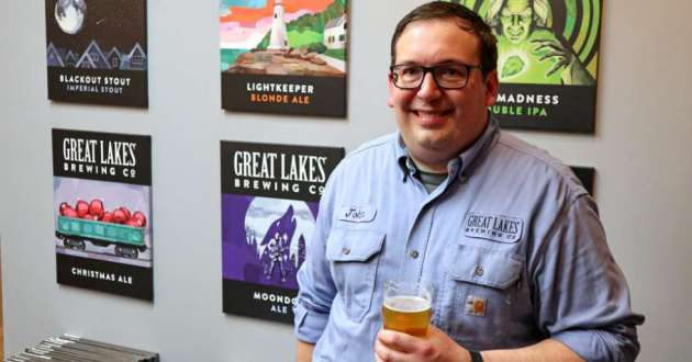 """""""It's giving us a partial-share in the result our hard work is generating,"""" said John Blystone, the Electrical and Controls Supervisor at Great Lakes Brewing Co., of the company's soon-to-be formalized Employee Stock Ownership Plan."""