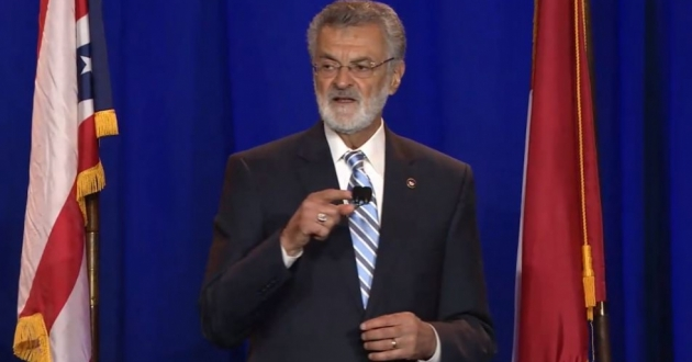 Mayor Frank Jackson delivered his 2019 State of the City address at Cleveland Public Auditorium.