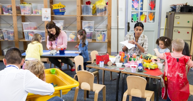 The average Ohio childcare worker makes roughly $20,000 a year according to research by Groundwork Ohio. [DGLImages / shutterstock]
