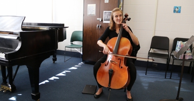 Nora Willauer is a master's student at the Cleveland Institute of Music.