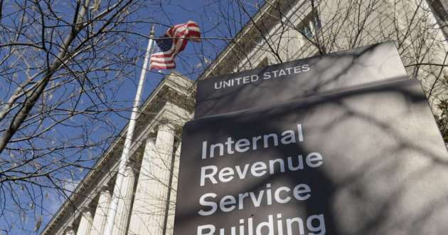 The Internal Revenue Service Building in Washington DC. Taxpayers faced with smaller refunds or higher taxes have been airing their grievances online.