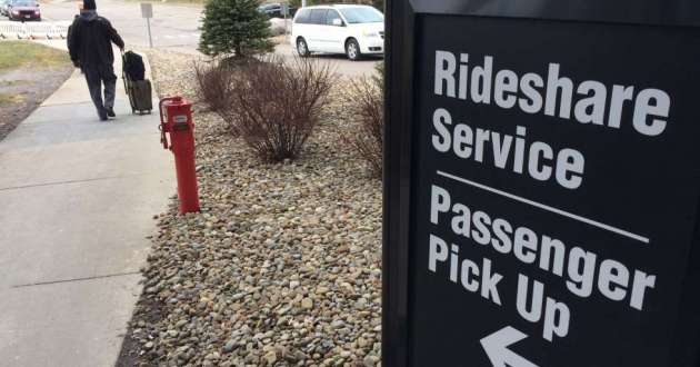Starting Monday, passengers won't have a long hike to get to their cab, limo or rideshare vehicle