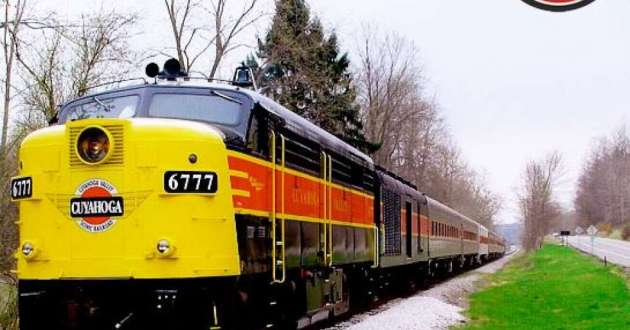 A Cuyahoga Valley Scenic Railroad train. The railroad's new educational program will be open to all ages.