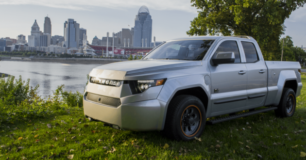 Workhorse first unveiled its electric pick-up truck at the 2018 Consumer Electronics Show.