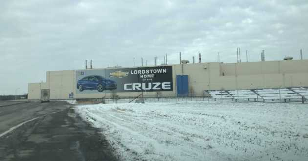 The Lordstown General Motors plant has been idle since March 2019.