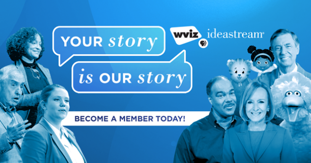 ideastream wviz pbs member support donate