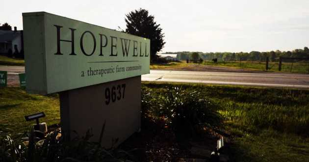 Northeast Ohio's Hopewell Farm takes a unique approach to treating mental illness.