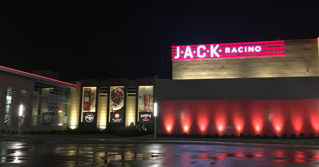 The Jack Thistledown Racino in North Randall, Ohio.