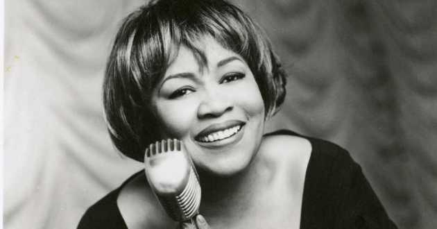 Mavis Staples in a publicity shot for her 1993 collaboration with Prince