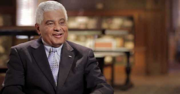 Steven A. Minter, pictured here during a 2014 documentary about the Cleveland Foundation, was the organization's CEO from for almost 20 years.
