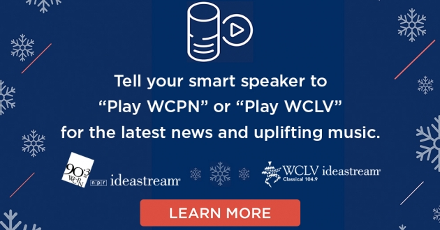 ideastream wclv wcpn smart speaker alexa