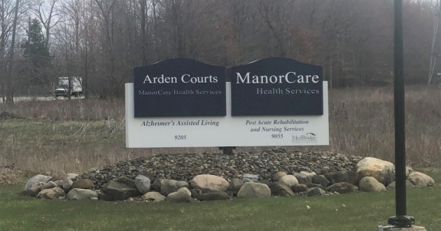 Cuyahoga County health officials are investigating a cluster of COVID-19 cases at ManorCare Health Services on W Sprague Rd. [Marlene Harris-Taylor / ideastream]