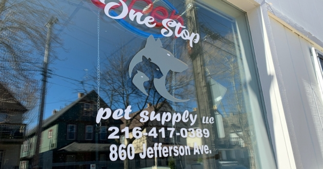 One Stop Pet Supply opened in Cleveland's Tremont Neighborhood in February.