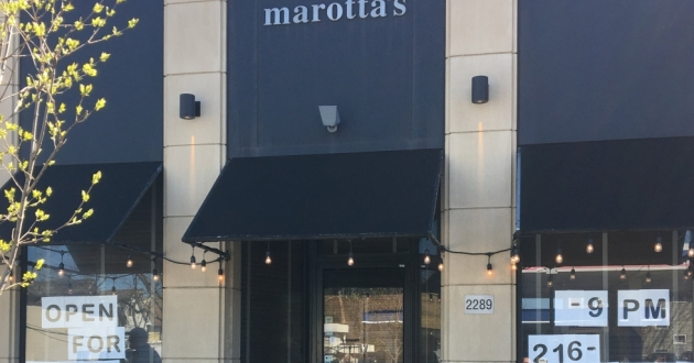 Marotta's Italian restaurant in Cleveland Heights