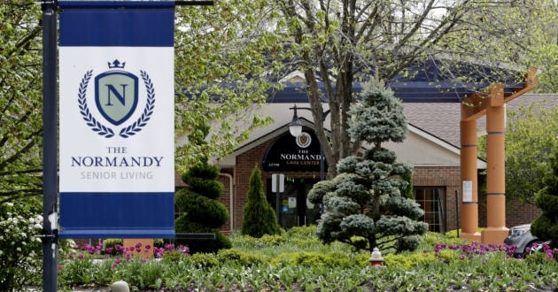 The Normandy Care Center in Rocky River, Ohio, Tuesday, May 19, 2020