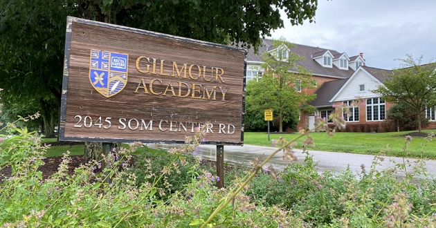 Gilmour Academy in Gates Mills is just one of the 108 Catholic schools in Northeast Ohio that has to make a decision soon on how the fall 2020 semester will be conducted. [Ida Lieszkovszky / ideastream]