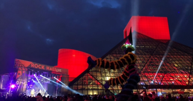 The Rock Hall kicks off Induction Week with a day of live, local music. [Jason Hanley / Rock Hall]
