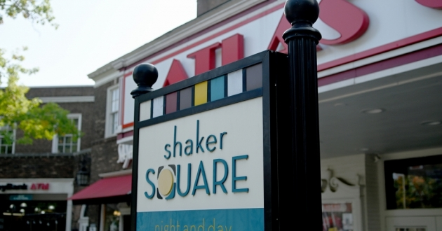 Shaker Square's current owner, Coral Shaker Square, LLC, is facing foreclosure in Cuyahoga County Court of Common Pleas. [Tim Harrison / Ideastream Public Media]