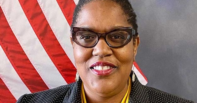 Esther Thomas is the new director of diversity, equity and inclusion at the Summit County Sheriff's Office. [Esther Thomas / Summit County Sheriff's Office]